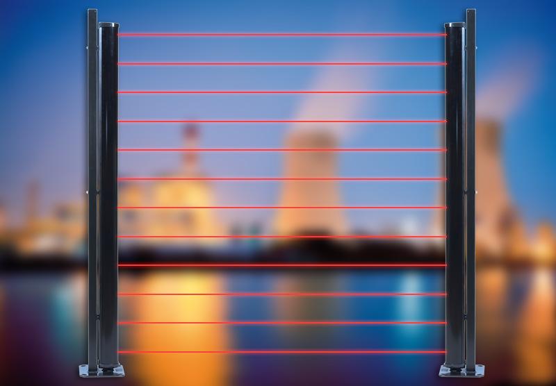 Инфракрасный активный барьер MAXIRIS 3000 / 3100