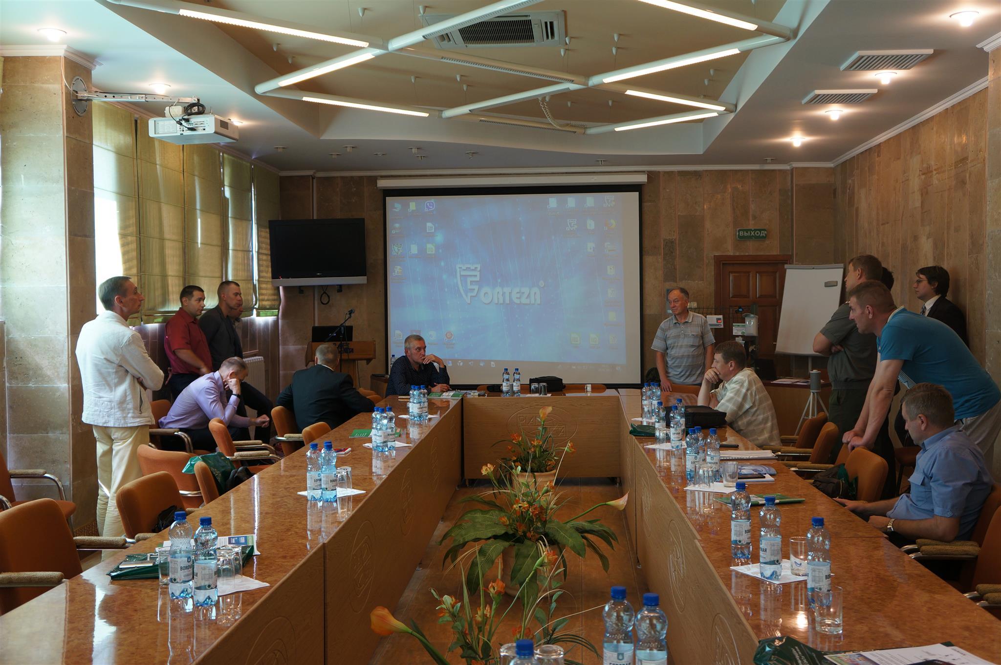 Международный семинар в Минске совместно с ООО «Охранная техника» (РФ)